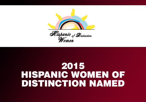 Claudia Bartra - 2015 Hispanic Women of Distinction Named