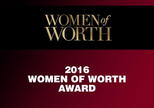 Claudia Bartra - Women of Worth Award